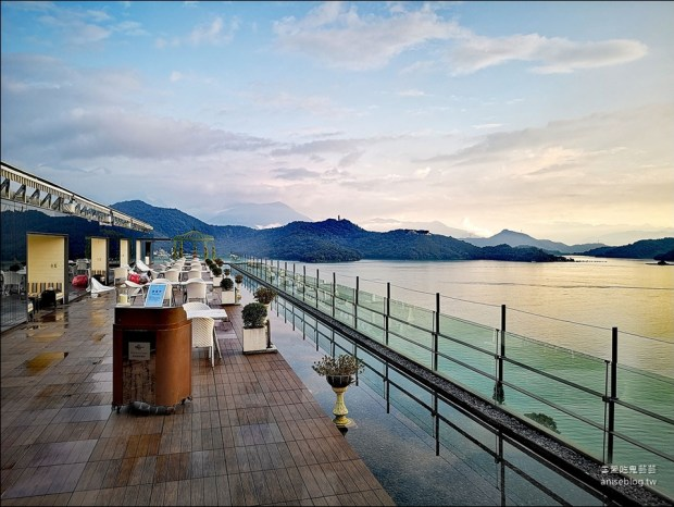 日月潭雲品溫泉酒店,下午茶、館內設施、遊船行程
