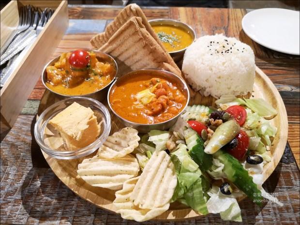 三個傻瓜印度蔬食(大安店),口味偏清淡的印度料理 (附菜單)