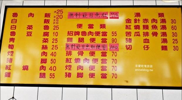 唯豐魯肉飯,超值魯肉便當在地推薦小吃,三重平價美食(姊姊食記)