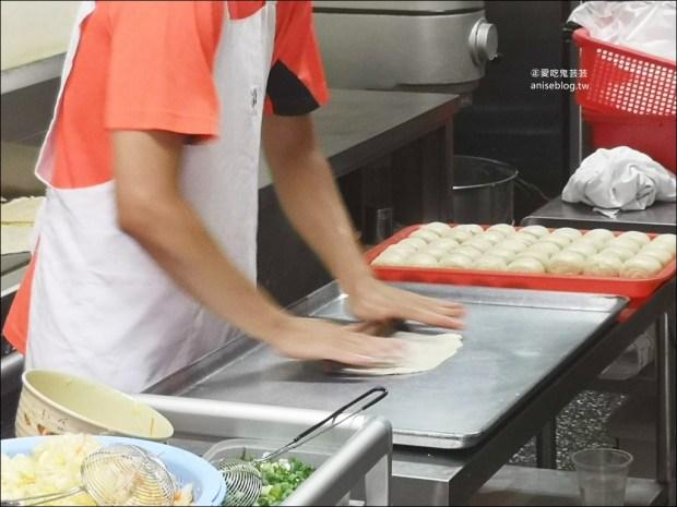啖餅坊手工蛋餅專賣店,高麗菜蛋餅+小魚辣椒很對味,土城捷運海山站美食(姊姊食記)