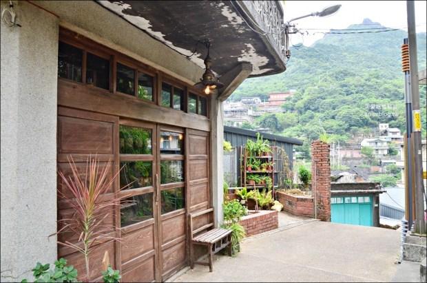 散散步咖啡,隱身山城小徑的老屋咖啡館,祈堂老街彩虹階梯,金瓜石美食(姊姊食記)