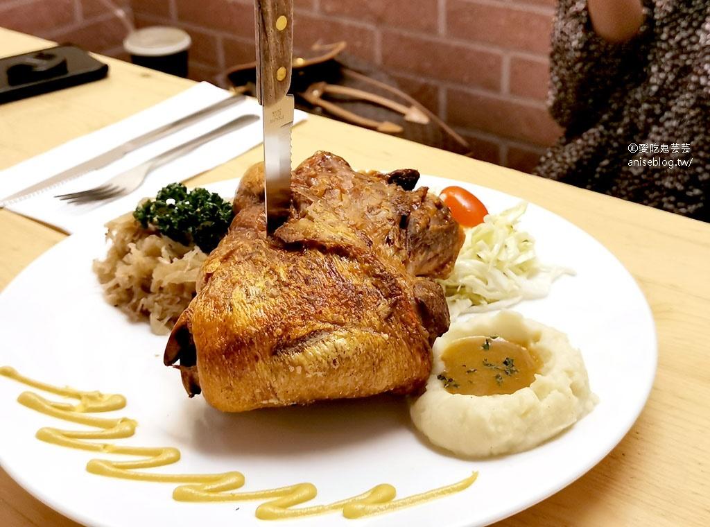 巴獅子德國餐廳,豬腳,香腸,垛麵好德國好好吃,推!(文末菜單)   愛吃鬼蕓蕓