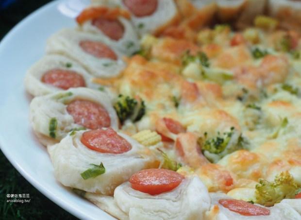 蔥媽媽蔥抓餅、水餃,多種口味毫好吃 (內含創意Pizza DIY食譜)