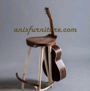 gitar stand kayu terbaru