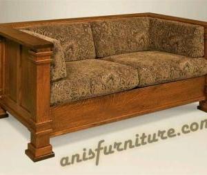 kursi sofa jati klasik