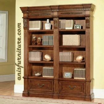 lemari buku antik