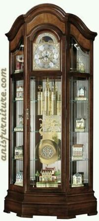 lemari jam klasik mewah