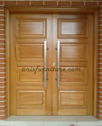 pintu jati klasik