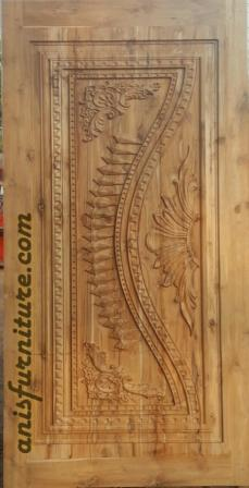 pintu jati ukiran jepara
