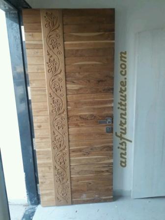 pintu jati unik