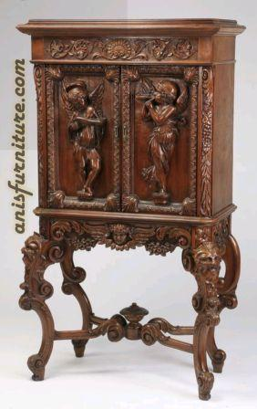 meja antique console