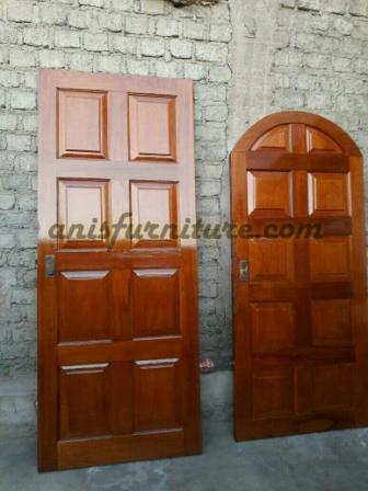 pintu minimalis jati