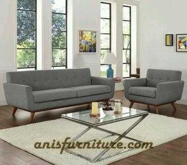 sofa minimalis retro