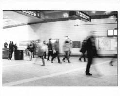 Commuters at Harvard