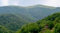 Across from Goshavank Monastery