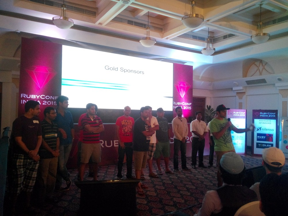 Ruby Conf India, 2015 (5/6)
