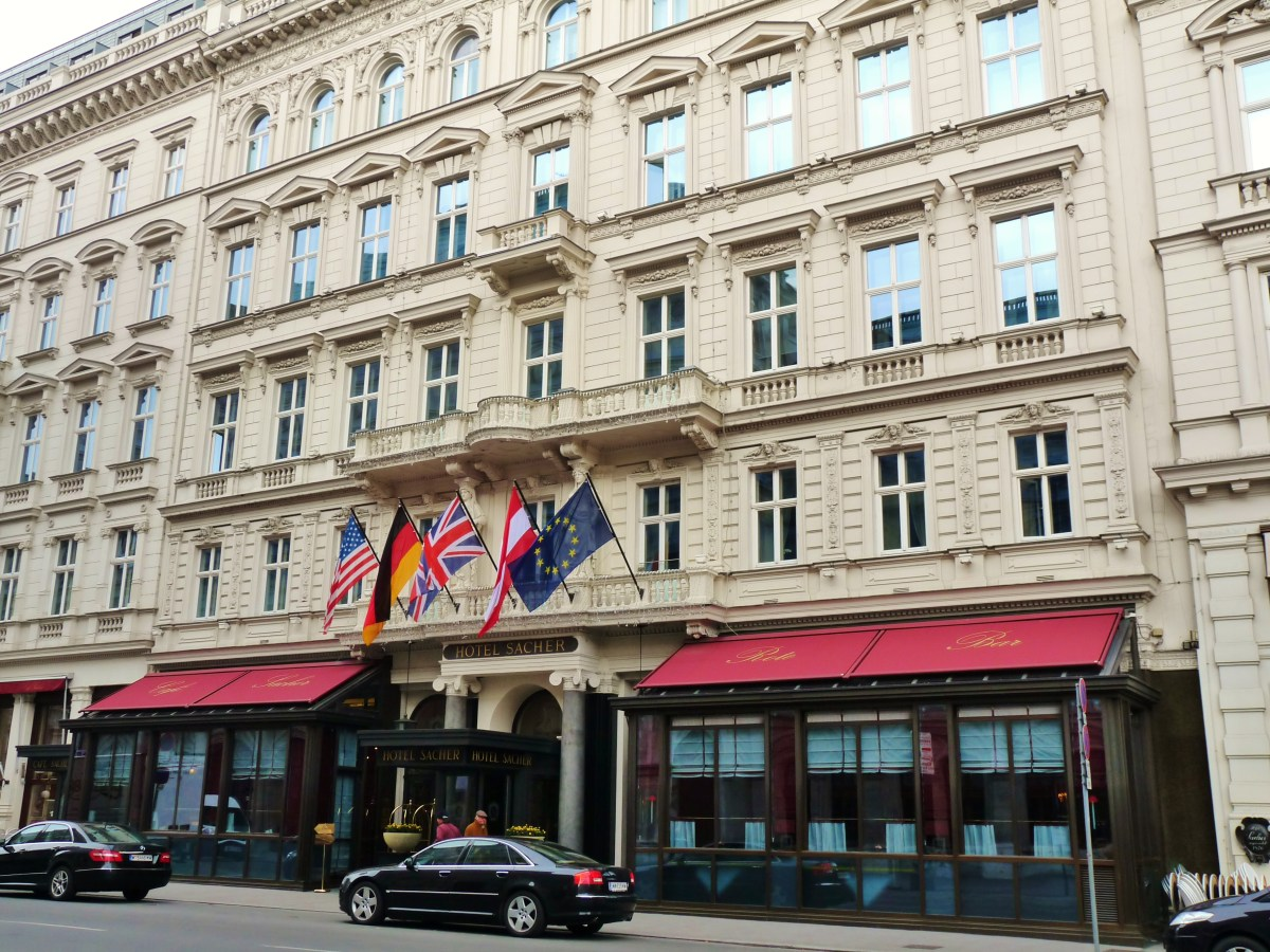Hotel Sacher Vienna Wien Luxury
