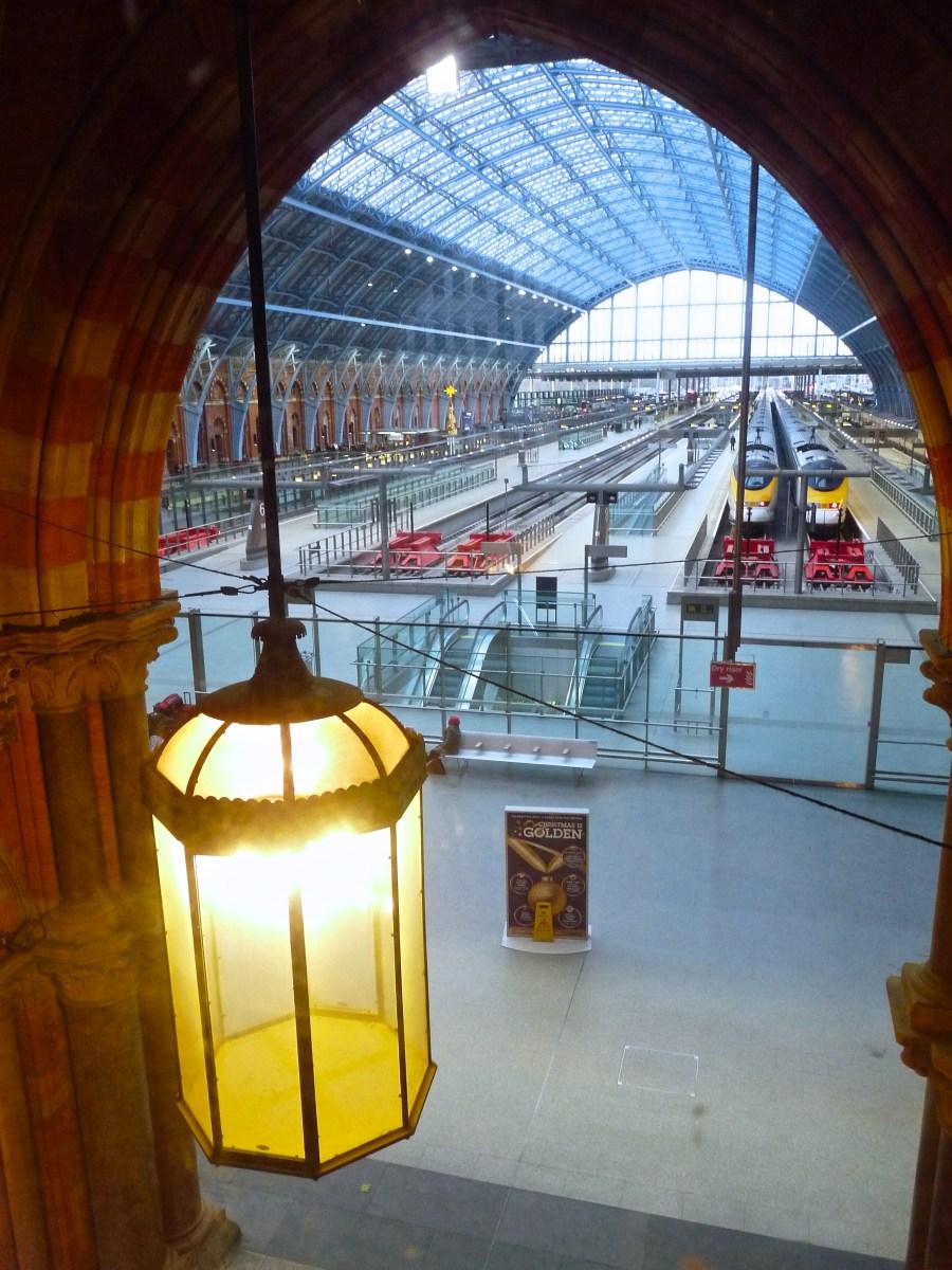 View Railway Station Eurostar St Pancras Renaissance