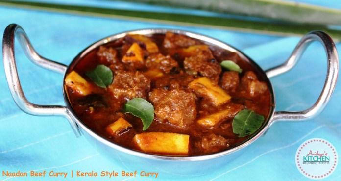 Kerala Style Naadan Beef Curry