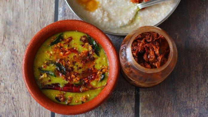Kerarala style chakka ozhichu erissery curry - Jackfruit curry recipe