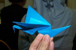 Flapping Bird Origami