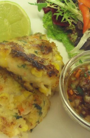 Thai style Crab Cakes