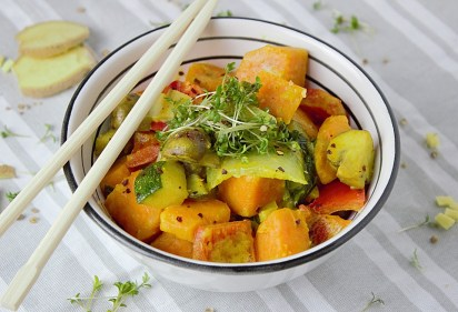 Roasted Vegetable Curry