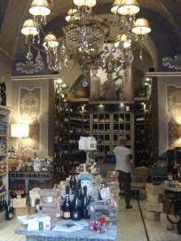 Now that's a beautiful wine shop!