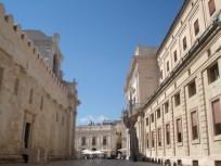 Looking toward the Piazza del Duomo