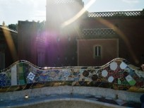 Guell Park - benches