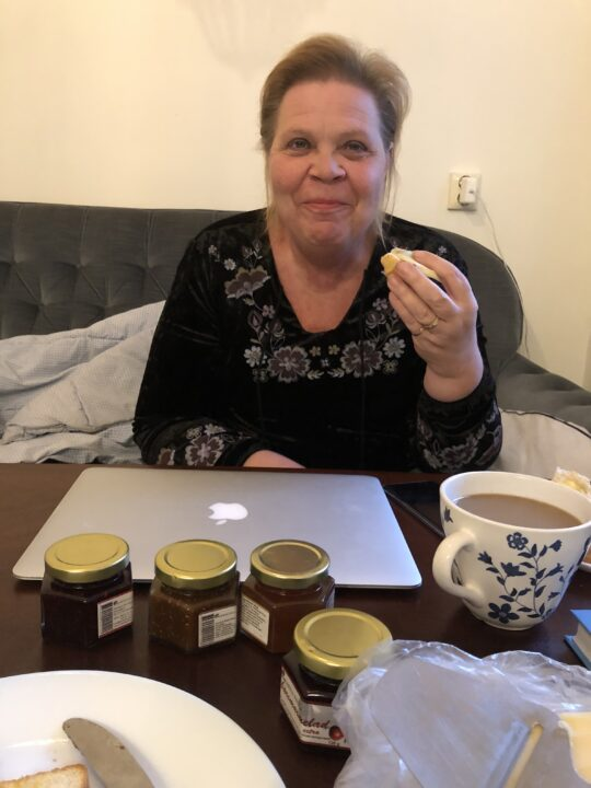 Marmeladprovning