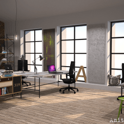 Tolix Chair Cushion How To Measure A For Slipcover Urban Design Is King | Anita Brown 3d Visualisation