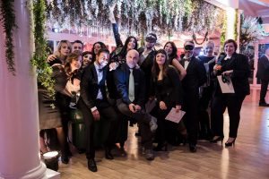 Claudio berettoni con i partecipanti al Corso