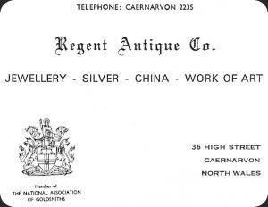 shop business card.