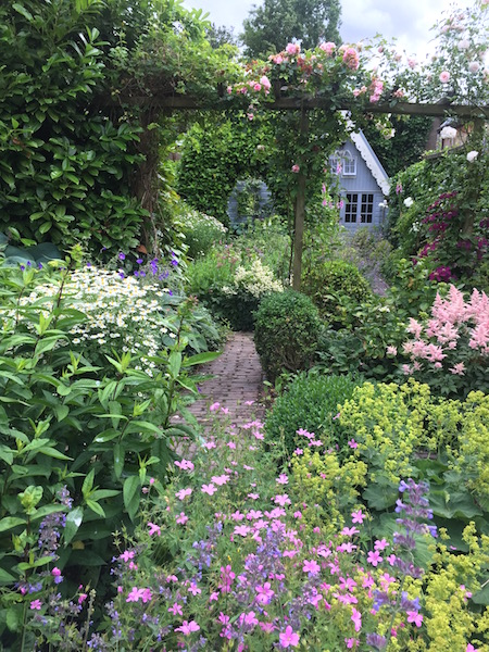tuin als extra woonkamer