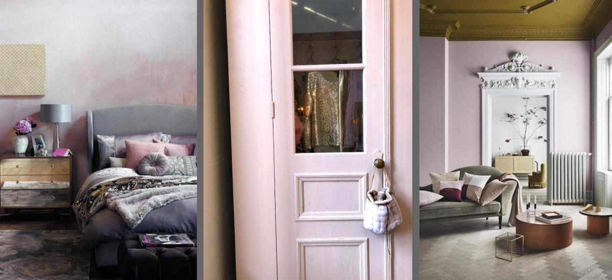 Roze als trendkleur voor het interieur.  Like / don't like?