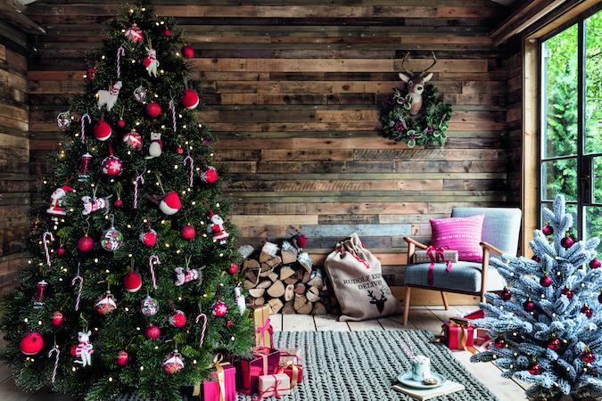 kersthuis kleur