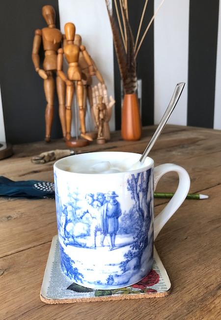 werkkamer koffie