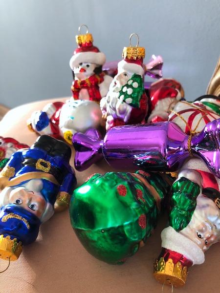 kersthuis versiering