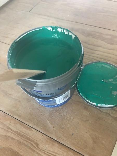 verf voor groene badkamer