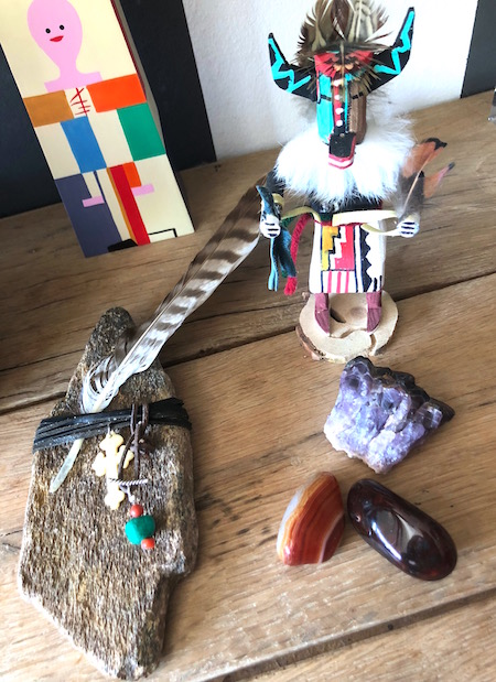 'woon'dingen- selfmade good luck charm