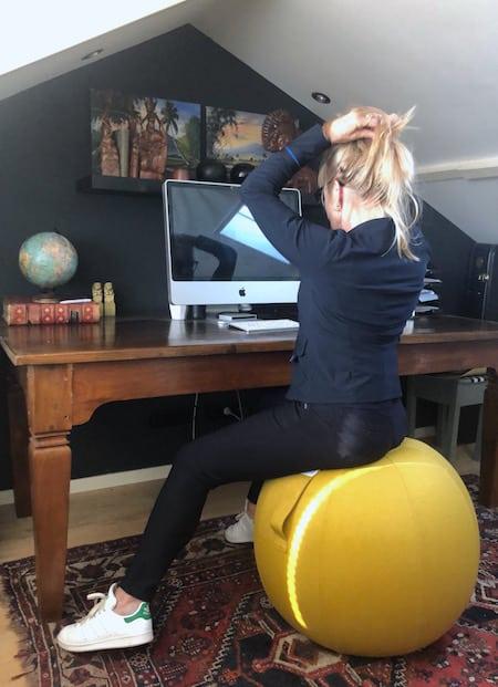 home office vluv geel