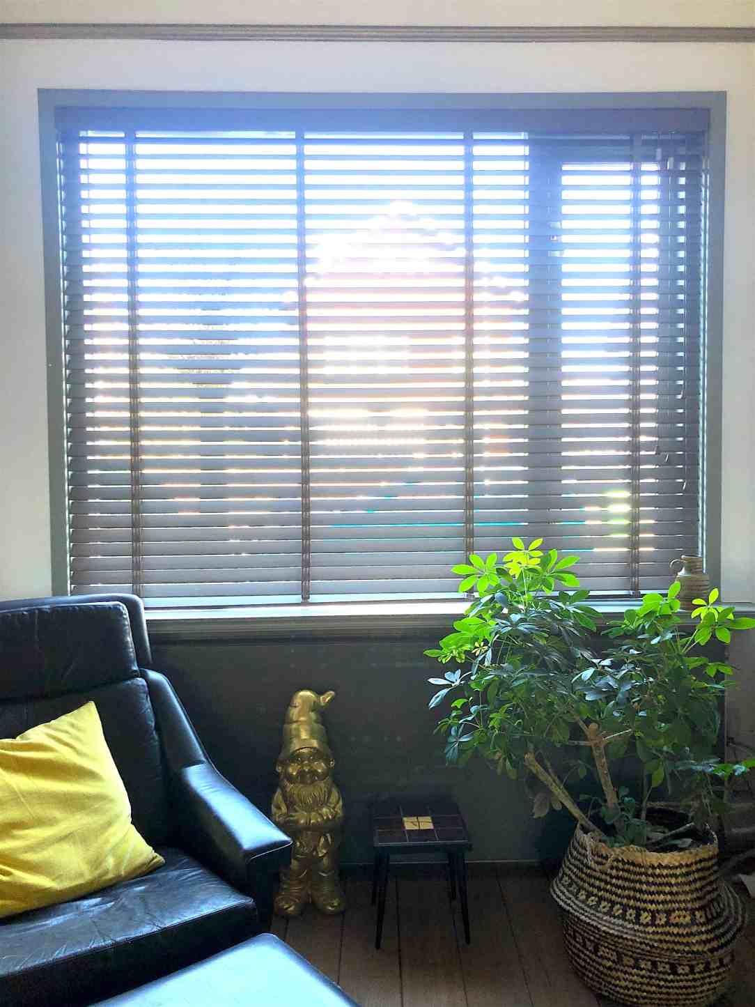 houten jaloezieen-juiste raamdecoratie voor woonakmer
