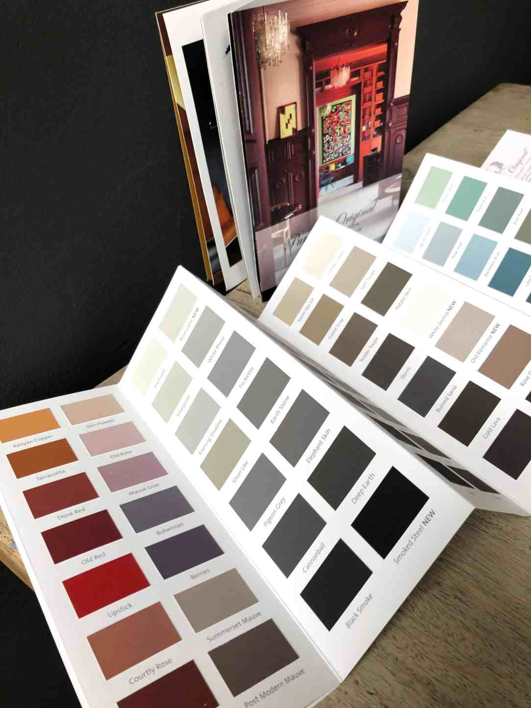 kleurkaart Pure & Original
