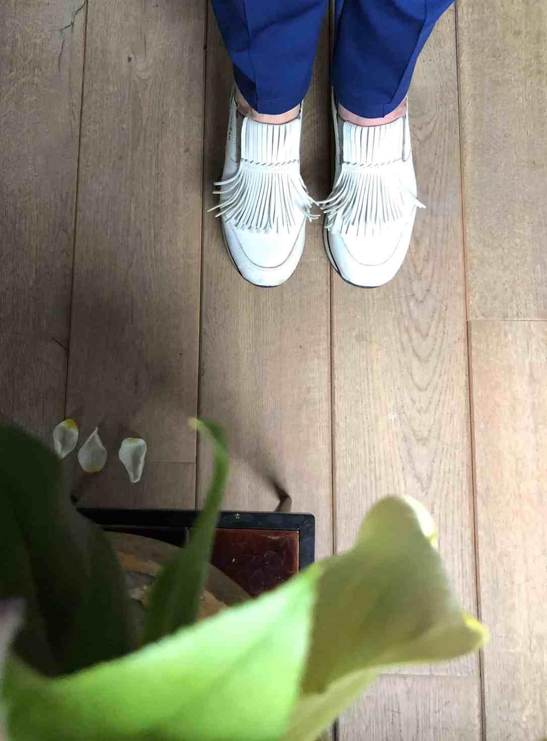 Milieuvriendelijk interieur-houten vloer