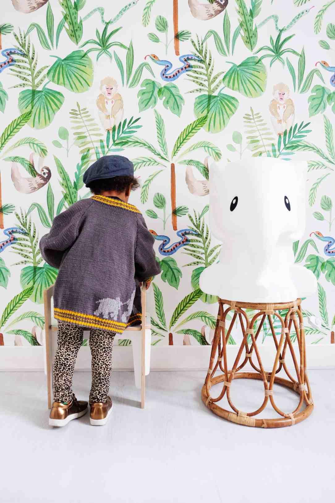 Jungle-Monkeys2-behang