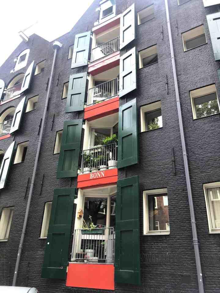 Amsterdams pakhuis