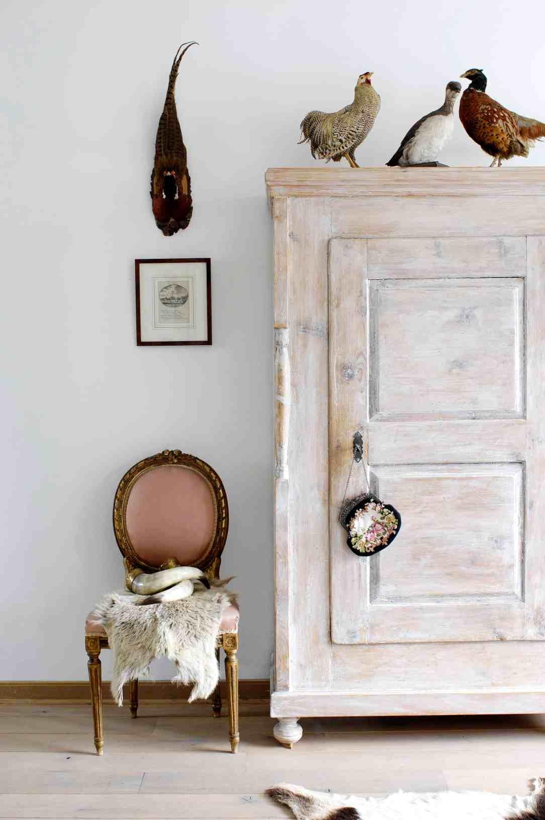 witte kast-inrichten huis