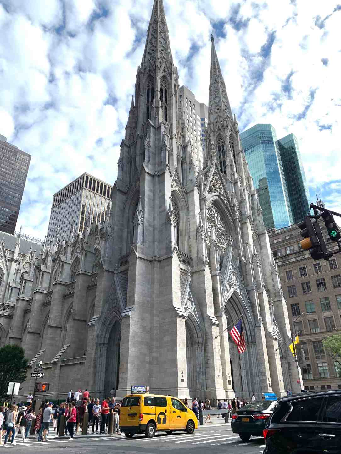 New York-St. Patrick's cathedral