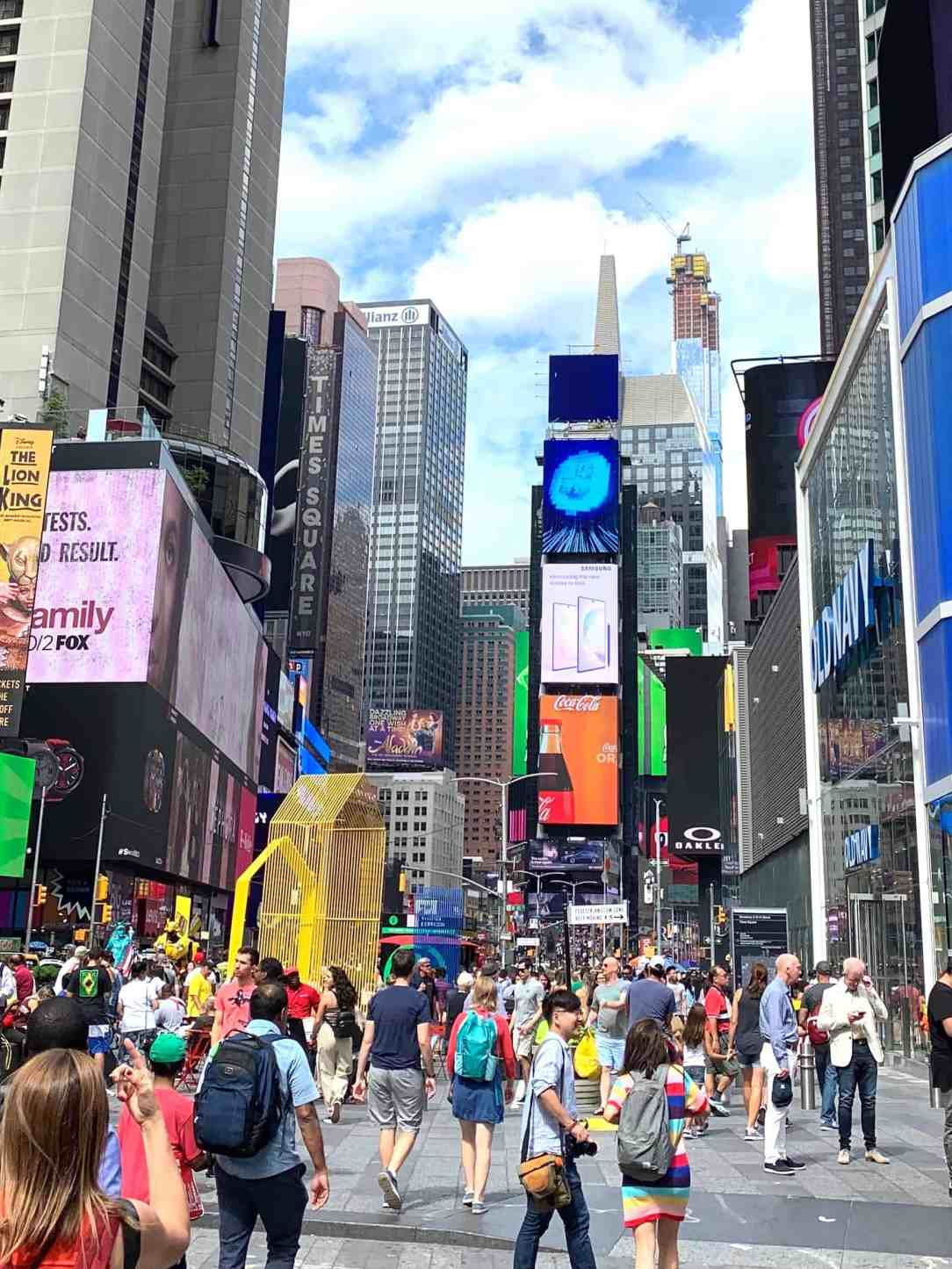 new York-Times Square